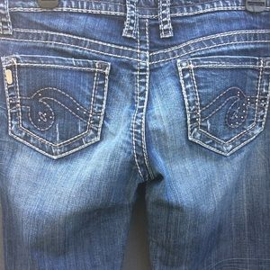 See Thru Soul Most Wanted Distressed Jeans Size 6